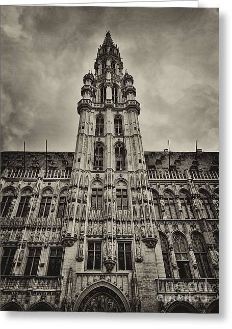 Greeting Card featuring the photograph Brussels Groot Markt I by Jack Torcello