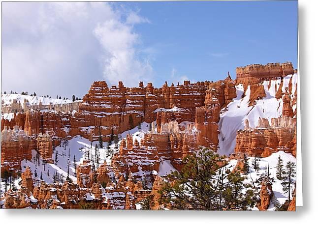 Bryce Canyon Castles Greeting Card by Viktor Savchenko