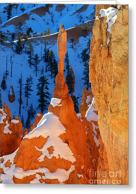 Bryce Canyon Winter 10 Greeting Card by Bob Christopher