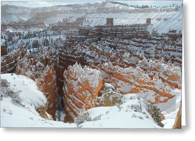 Bryce Canyon Feburary  Greeting Card