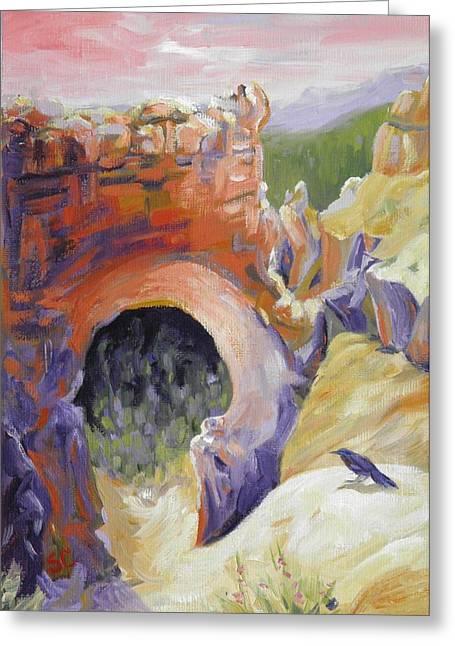Bryce Canyon Light Utah Greeting Card