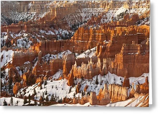 Bryce Canyon Morning Light  Greeting Card