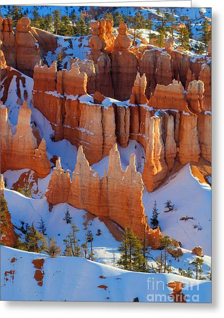 Bryce Canyon Winter 12 Greeting Card by Bob Christopher