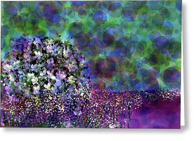 Bubbles  Greeting Card by Don Wright