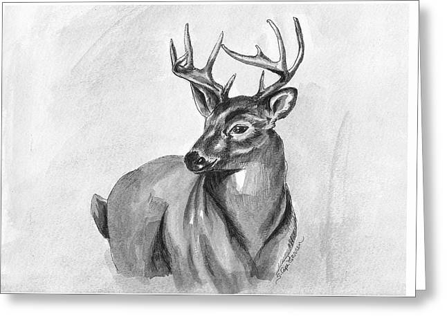 Buck Greeting Card