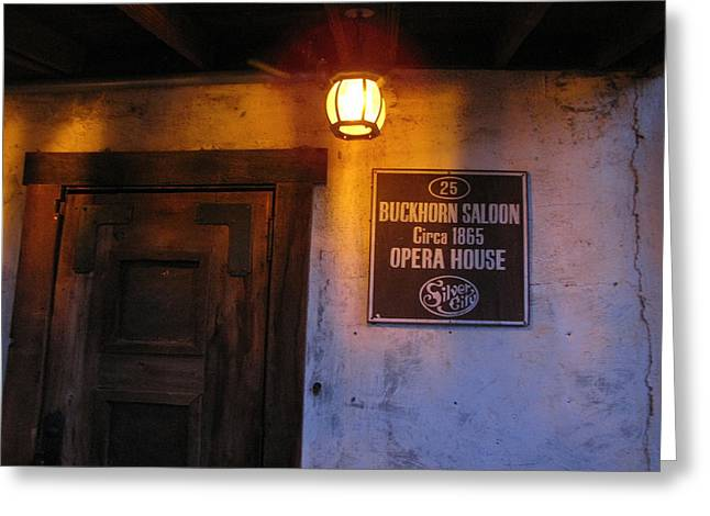 Buckhorn Saloon And Opera House Greeting Card by FeVa  Fotos