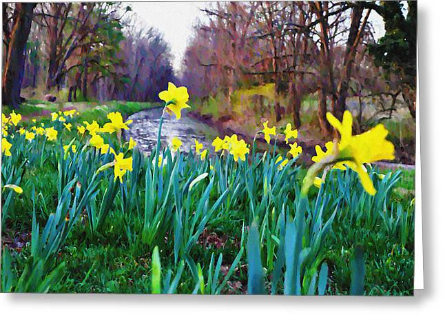 Bucks County Spring Greeting Card by Bill Cannon