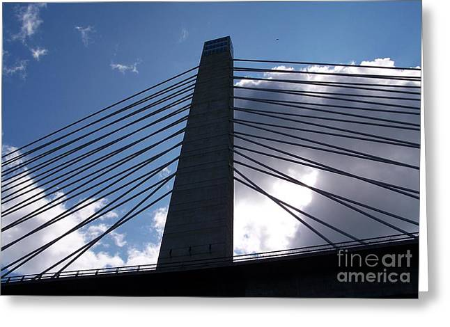 Bucksport Bridge Greeting Card