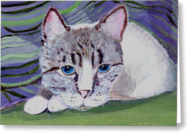 Bugsy's Quilt Greeting Card