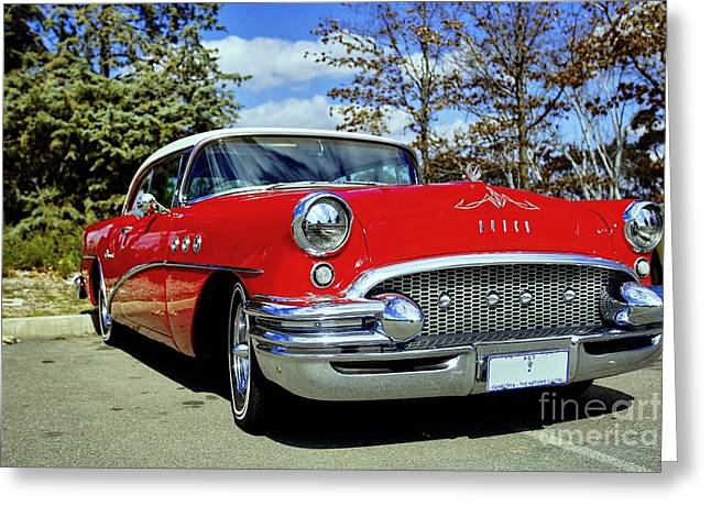 Greeting Card featuring the photograph Buick by Paul Svensen