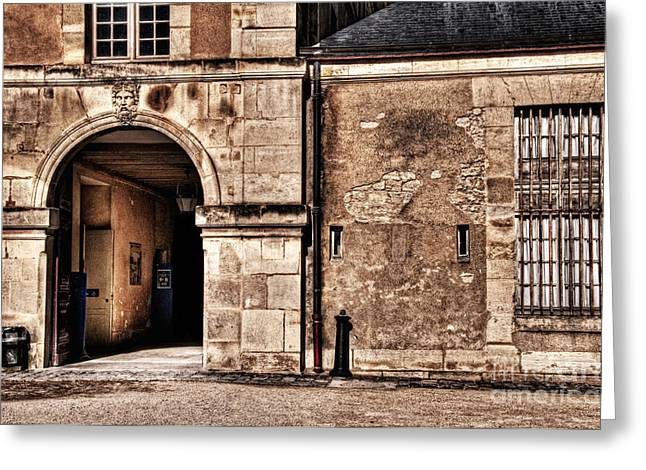 Building In France Greeting Card by Charuhas Images