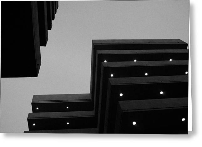 Building Lights Greeting Card
