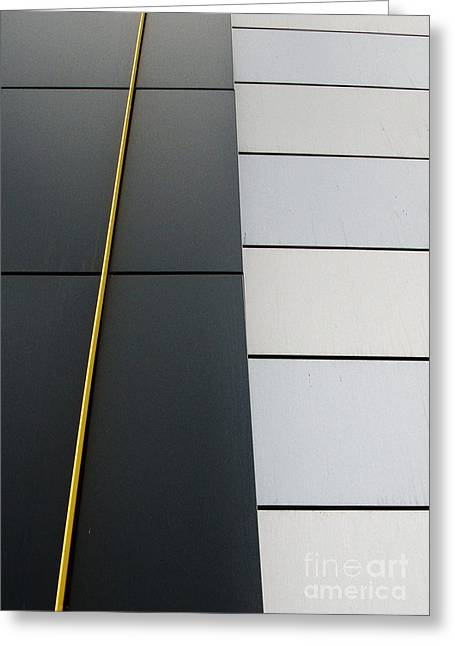 Building Photo Abstract Greeting Card