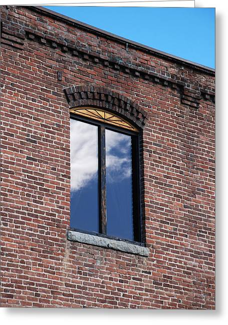 Greeting Card featuring the photograph Building Series - Sky Views by Kathleen Grace