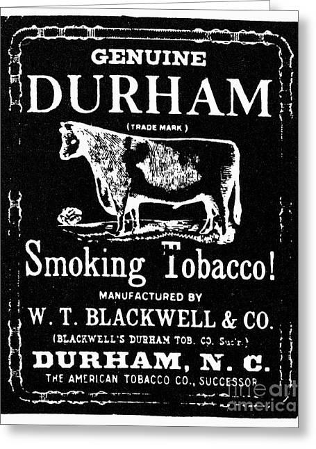 Bull Durham Tobacco, 1864 Greeting Card