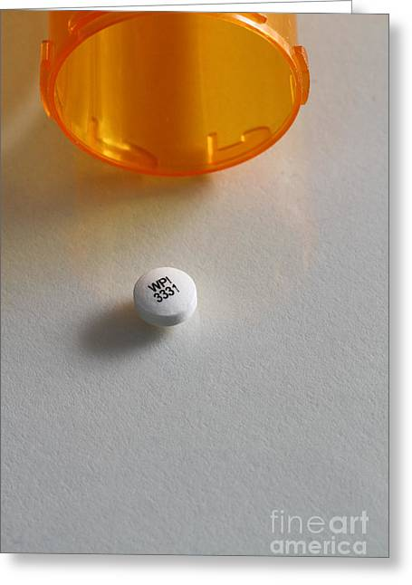 Bupropion Hydrochloride Greeting Card by Photo Researchers, Inc.