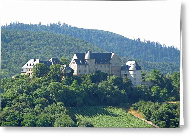 Burg Ebernburg Germany Greeting Card by Joseph Hendrix