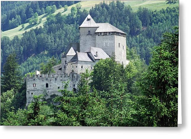 Burg Reifenstein Sterzing Italy Greeting Card by Joseph Hendrix