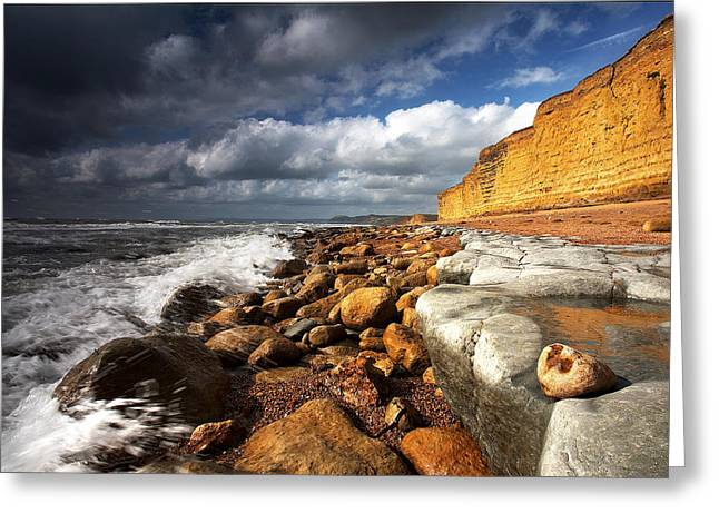 Burton Bradstock Greeting Card