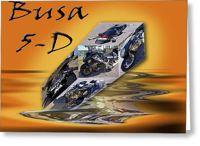 Busa 5-d Greeting Card