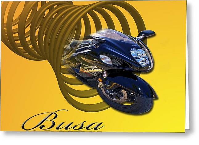 Busa Greeting Card