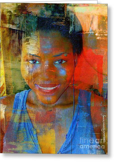 But Still Blessed Greeting Card by Fania Simon