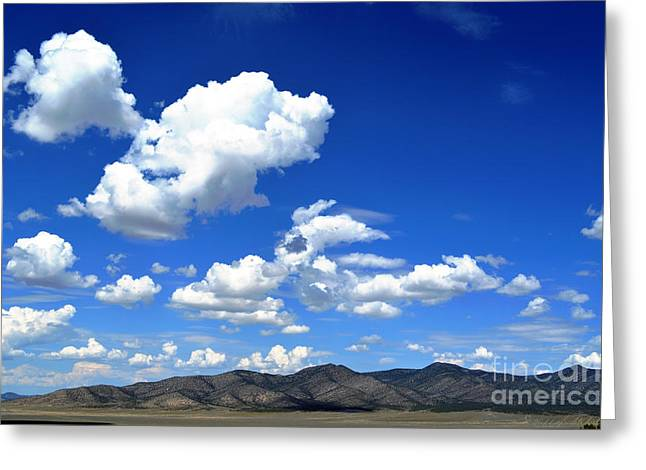 Butte Valley Nevada Greeting Card
