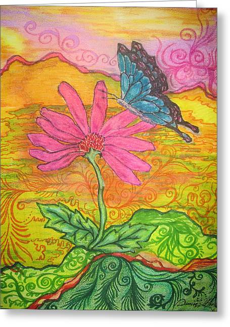 Butterfly Discoveries Greeting Card