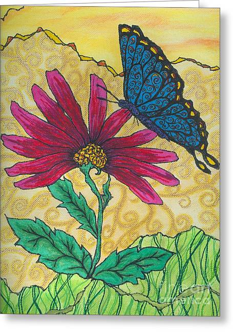 Butterfly Explorations Greeting Card