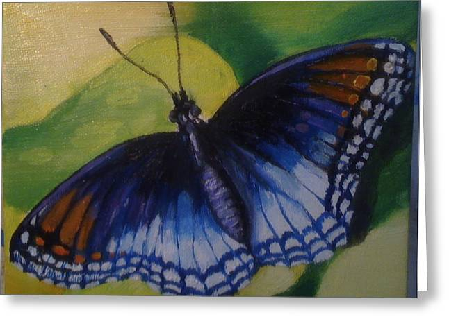 Butterfly Greeting Card by Jeff Arcel