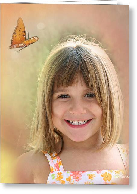 Butterfly Smile Greeting Card