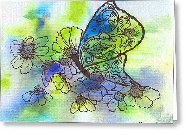 Butterfly Transformations Greeting Card