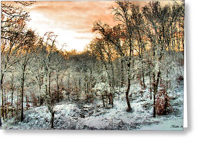 By Dawn's Early Light Greeting Card by Kristin Elmquist