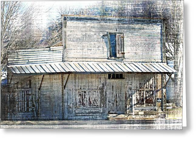 By The Tracks In Vesuvius Greeting Card by Kathy Jennings