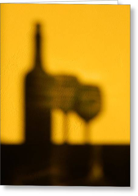 Greeting Card featuring the photograph Cabernet Afternoon by Everette McMahan jr