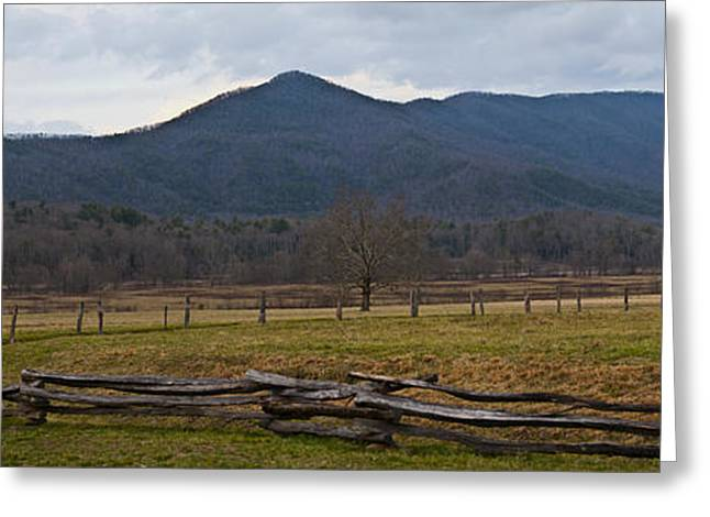 Cade's Cove - Smoky Mountain National Park Greeting Card by Christopher Gaston
