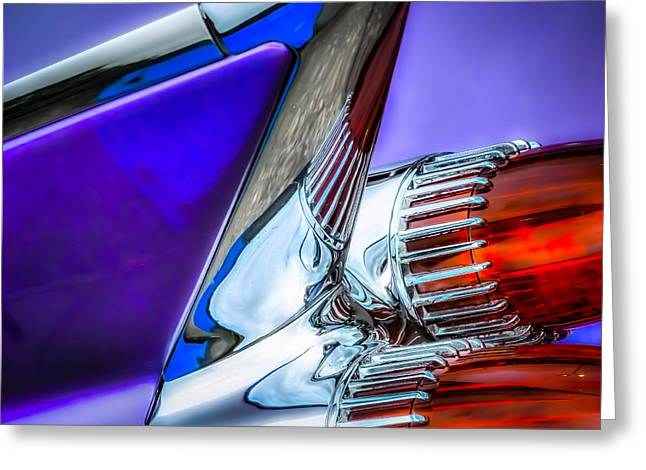 Cadillac Greeting Card by Pattie  Stokes