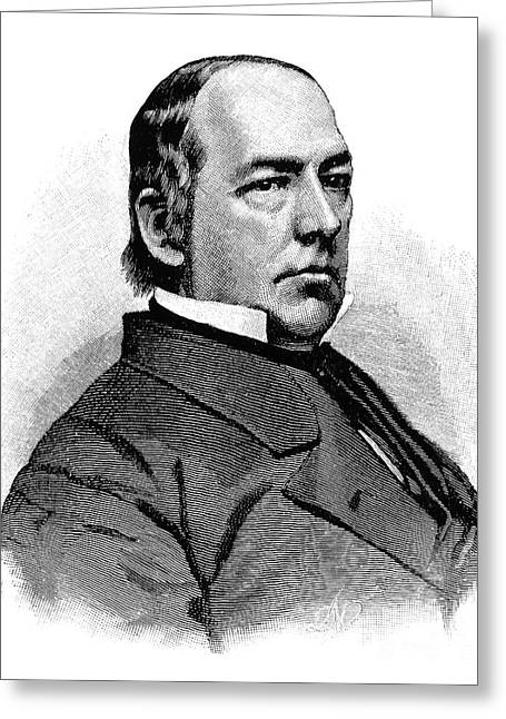 Caleb Blood Smith Greeting Card by Granger