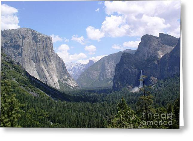California Canyon Greeting Card by Suzanne Clark