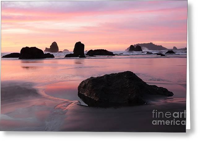 California Coast 3 Greeting Card by Bob Christopher