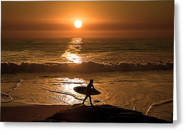 California Dreaming Greeting Card by Edward Printz