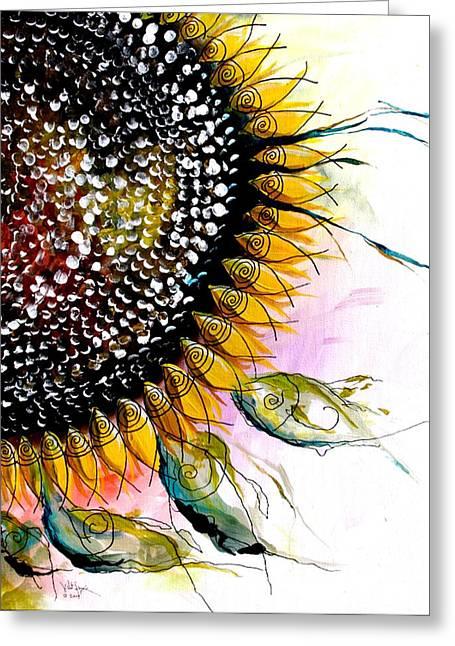 California Sunflower Greeting Card