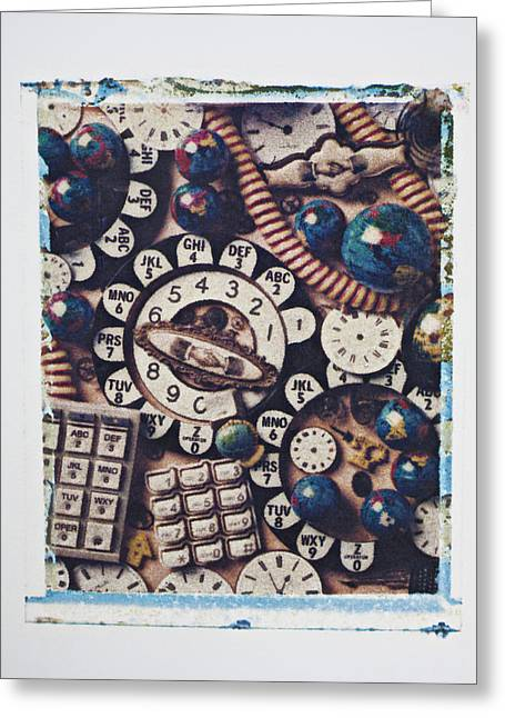 Call Me Greeting Card by Garry Gay