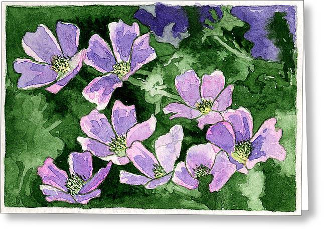 Callirhoe Greeting Card by Eunice Olson