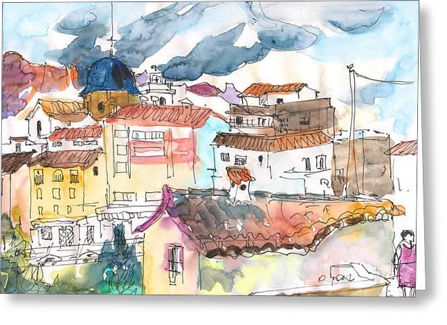 Callosa De Ensarria 02 Greeting Card by Miki De Goodaboom
