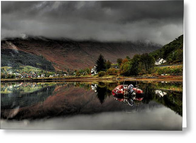 Calm Before The Storm Greeting Card by John Chivers