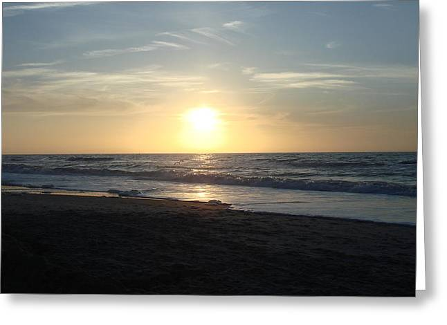 Calm Sunrise Greeting Card by Marcus Hudson