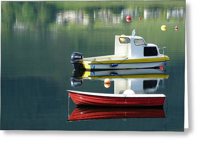 Greeting Card featuring the photograph Calm Waters by Lynn Bolt