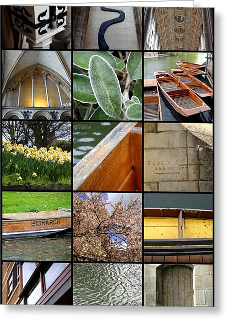 Cambridge As I Remember It Greeting Card