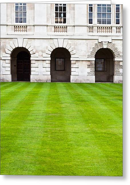 Cambridge College  Greeting Card by Tom Gowanlock